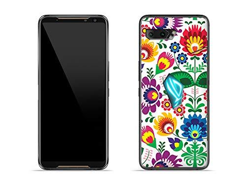 etuo Hülle für Asus ROG Phone 2 - Hülle Fantastic Hülle - Folkscherenschnitt Handyhülle Schutzhülle Etui Hülle Cover Tasche für Handy
