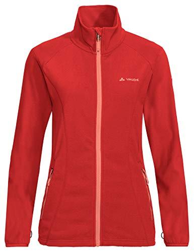 VAUDE Damen Jacke Women's Sunbury Jacket, leichte Fleecejacke, magma, 44, 413272080440