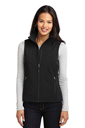 Port Authority Women's Core Soft Shell Vest L Black