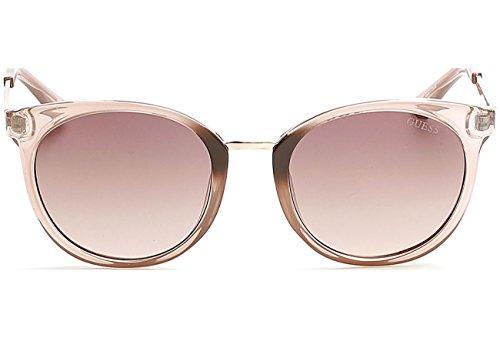 Guess GU7459E Gafas de sol, Beige (Beige LucMarrone Grad), 52.0 Unisex Adulto