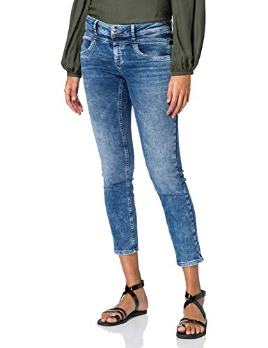 STREET ONE York Jeans, Blue Indigo Heavy Washed, W30/L28