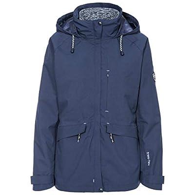 Trespass Women's Cruising Waterproof 3-in-1 Jacket With Concealed Hood With Tie Adjusters and Detachable Inner Marl Fleece