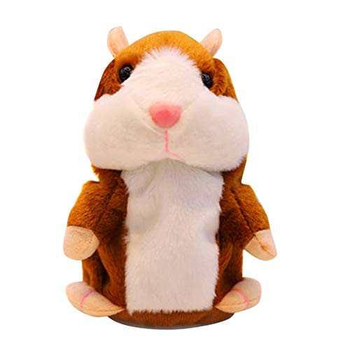 Dušial Amazing Talking Hamster Toy Christmas Toys Talking Walking Hamster Toys Multifunctional