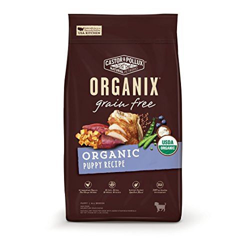 Castor & Pollux Organix Grain Free Organic Puppy Recipe Dry Dog Food...
