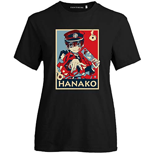 Peoria Toilet-Bound Hanako-kun T-Shirt, Anime Crewneck T-Shirts for Lovers, Men and Women(S Style 07)