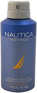 Nautica Voyage Body Spray, 150 ml