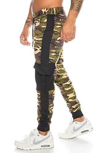 Crazy Age Pantalon de sport cargo pour homme Pantalon de...