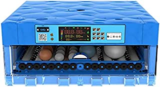 Eggs Incubator Automatic Turning Digital Poultry Hatcher, Air Incubator for Chickens Ducks Goose Birds - 56 Eggs