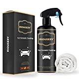 RIOUSERY Ceramic Coating for Cars, 10.2 Oz Car Wax...