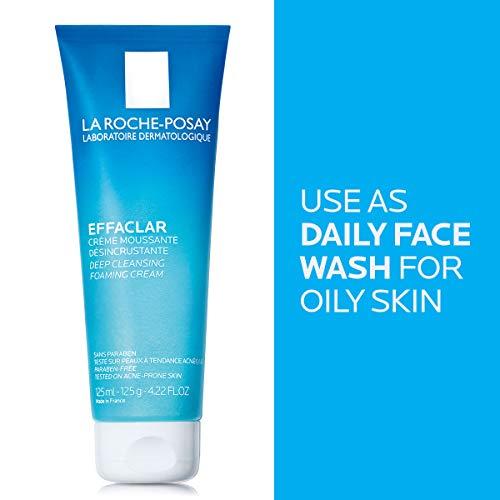 La Roche-Posay Effaclar Deep Cleansing Foaming Cream Cleanser, 4.2 Fl oz. 5