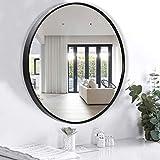 Espejo de pared para el baño - Espejo decorativo de pared redondo, el mejor...