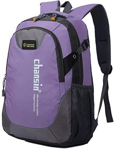 ZLININ Y-longhair Mochila de senderismo, mochila para estudiantes, mochila de viaje, impermeable, transpirable, senderismo, montañismo, escalada, camping, mochila para hombres y mujeres