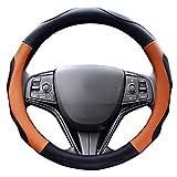 ZATOOTOハンドルカバー 軽自動車 ステアリングカバー sサイズ 3Dグリップ滑り止め LY06-BC