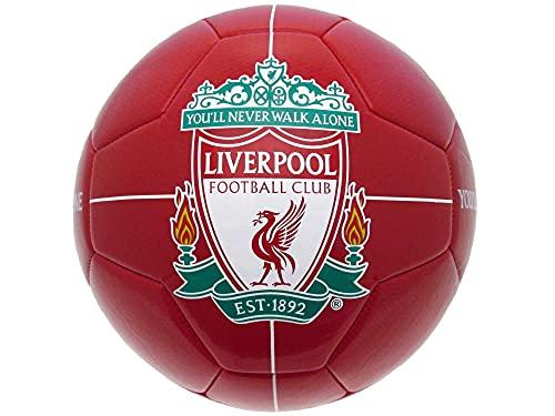 FC Liverpool - Pallone da calcio Shiny, misura 5