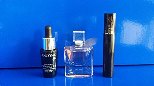 Lancôme Set Inhalt: Hypnôse - Volumen Mascara Nr. 01 - Noir - Hypnose 2ml + Advanced Génifique Serum 7ml + La vie est belle L´Eau de Parfum 4ml