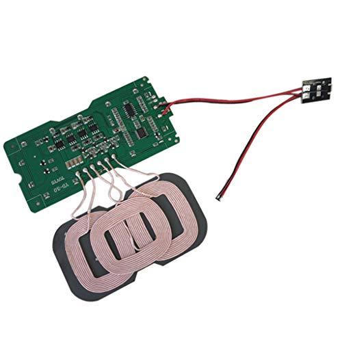 balikha Cargador Inalámbrico Qi Placa de Circuito PCBA Bobina Puerto USB DIY, Interfaz: