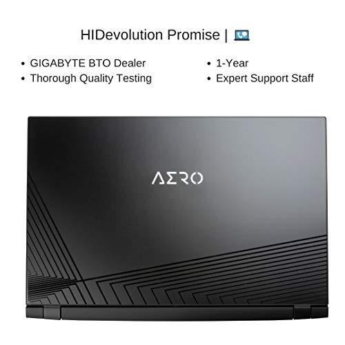 HIDevolution Gigabyte Aero 17 HDR XC-8US4450SP, 17.3
