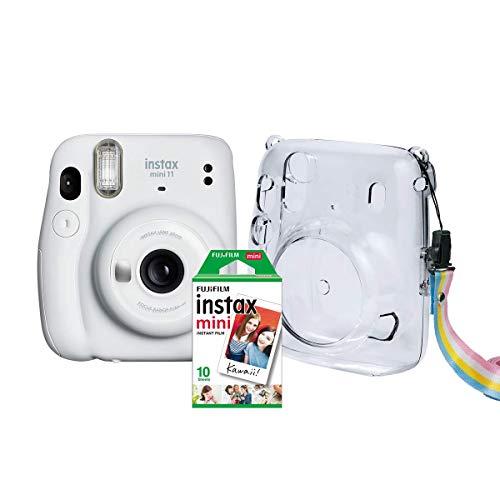 Kit Câmera Instax Mini 11 Fujifilm do Brasil - Branca Bolsa