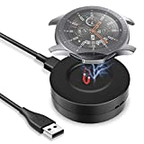 KIMILAR Cable Compatible con Samsung Galaxy Watch 42mm / 46mm / Gear S3 Cargador Magnétique Portable Base de Carga USB Repuesto Cargador Compatible con Galaxy Watch 46mm/42mm/Gear S3 Smartwatch