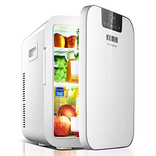 GAOXIAOMEI Mini Refrigerador Refrigerador Y Calentador, 3RD Gen, Capacidad 20L, Compactación Compacta, Portátil Y Silenciosa, CA + DC Power Compatibilidad, 12V / 220V