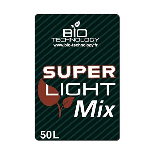 Bio Technology® | 50L | Terreau Super Light Mix® | Terreau Universel | Rempotage Croissance et Floraison | avec Perlite |Fabriqué en France |