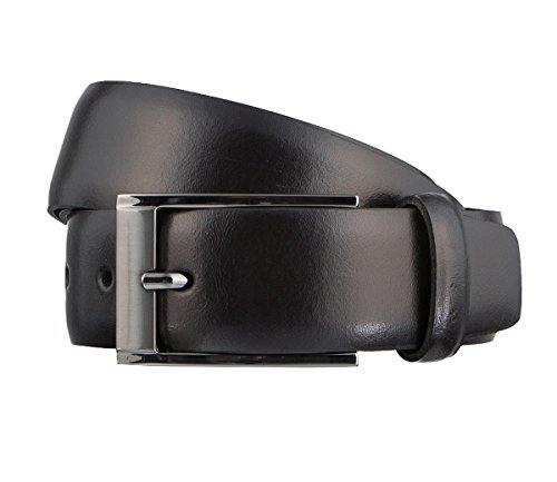 Schuchard & Friese Business Herrengürtel 3,5 cm Leder schwarz