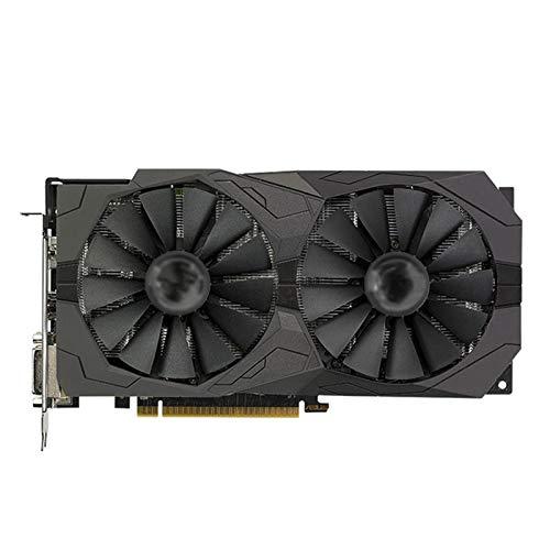 BMNN Fit For ASUS RX 570 4GB Tarjeta De Gráficos GPU AMD Radeon RX570 4GB Gaming Gaming Gaming Tarjeta DE GRÁFICOS 580 560 550 HDMI VGA DVI Tarjeta Gráfica