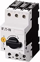Eaton PKZM0-0.63 Manual Motor Starter adjustable from 0.4 to 0.63 AMPS, Class 10 tripping and rotary On/OFF Handle