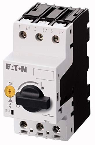 Eaton 072733 Motorschutzschalter, 3-polig, IR = 0, 4-0, 63 A, Schraubanschluss