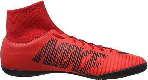 Nike Męskie buty piłkarskie MercurialX Victory Vi Df Ic, czerwony - Czerwony uniwersytet - 46 EU