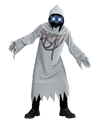 Horror-Shop Fantasma De Cadena con Ojos Luminosos Disfrazados De Nios XL 164