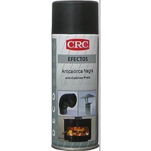 CRC – Pintura Resistente A Altas Temperaturas +650ºc Deco Anticalorica Negra 200 Ml