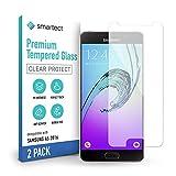 smartect Cristal Templado para Móvil Samsung Galaxy A5 2016 [2 Unidades] - Protector de pantalla 9H - Diseño ultrafino - Instalación sin burbujas - Anti-huella