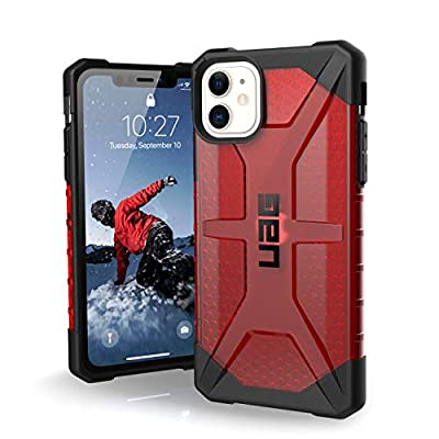 URBAN ARMOR GEAR UAG Designed for iPhone 11 [6.1-inch Screen] Plasma Feather-Light Rugged [Magma] Military Drop Tested iPhone Case