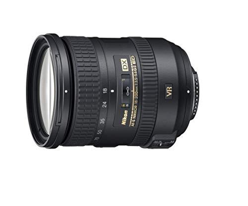 Nikon Obiettivo Nikkor AF-S DX 18-200 mm f/3.5-5.6G ED VR II, Nero [Versione EU]