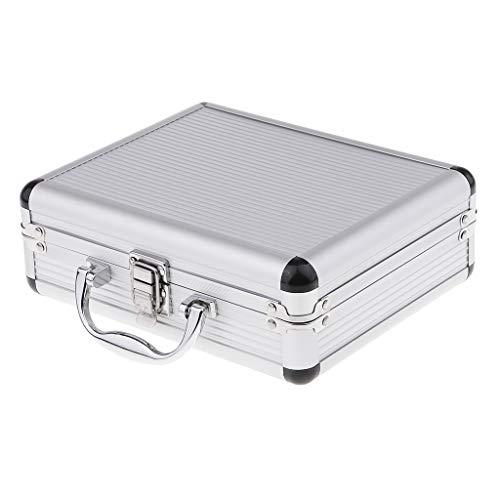D dolity maletín de aluminio aluminio caja caja de herramientas Almacenamiento resistente al agua