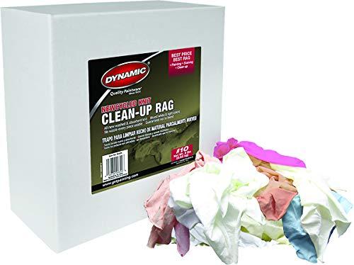 MERIT PRO 162583 99309 #10 8Lb Box New cycled Knit Clean Up Rag -  Intex Supply, 019736993098