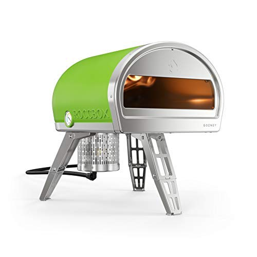 ROCCBOX by Gozney Portable Outdoor Pizza Oven - Gas Fired, Fire & Stone Outdoor Pizza Oven - Green