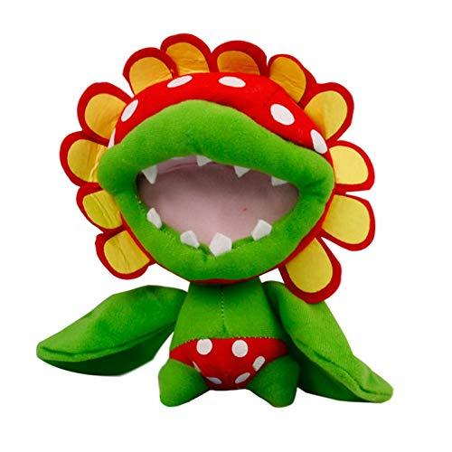 Jgzwlkj Juguetes de Peluche 19cm Super Flower Peluche Soft Soft Classic Dibujos Animado Collection Muñeca Juguete Juguete Regalo