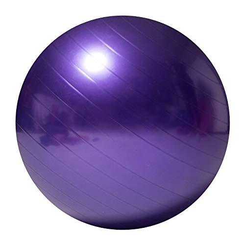 Yanmeng Bola de ejercicios engrosada a prueba de explosiones a prueba de explosiones grandes deportes deportes protección ambiental mujeres embarazadas Diámetro de la bola de fitness 75 cm, usado para