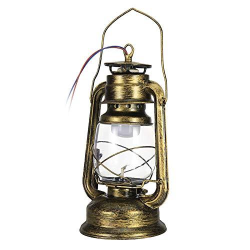 Lámpara De Escritorio LEDLámpara De Iluminación De Aceite De Queroseno Colgante De Pared De Hierro Luz De Mesa Ahorro De Energía Recargable