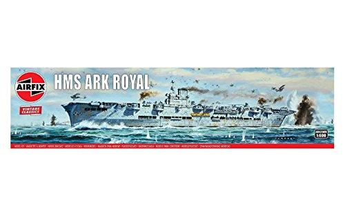 Airfix A04208V 1/600 HMS Ark Royal Modellbausatz, verschieden, 1: 600 Scale