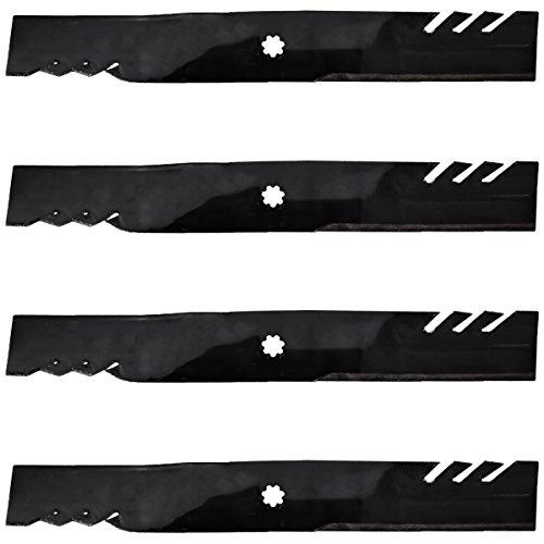 4PK 42' Gator G5 Mulching Blades Replacement for 42' Decks LA102 LA120 115 125 135 X300 M154061 Z225 592-615