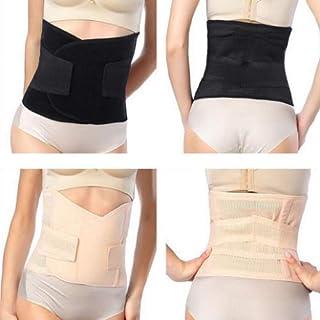 Recovery Belly Wrap Waist,Postpartum Support Recovery Belt, Pelvis Girdles Belt Body Shaper, Women Postpartum Girdle Recovery Belly, with Band Wrap Belt by nice 818 (black)