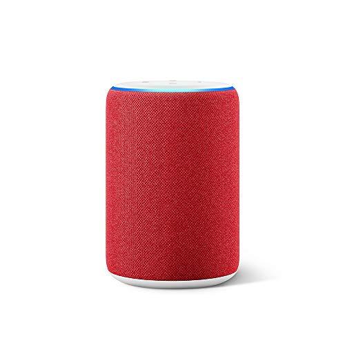 Amazon Echo (3ª generazione) - Altoparlante intelligente con Alexa - (RED) Edition