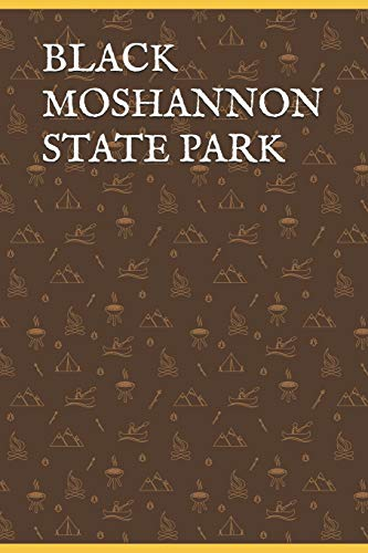 BLACK MOSHANNON STATE PARK: Blank Lined Journal for Pennsylvania Camping, Hiking, Fishing, Hunting, Kayaking, and All Other Outdoor Activities