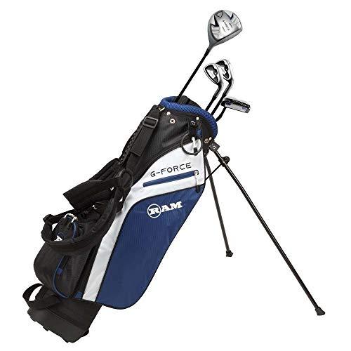 Ram Golf Junior G-Force Boys Golf Clubs Set with Bag Age 4-6 - Lefty