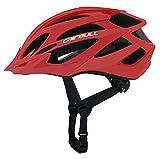 Cascos Bicicleta Montaña, Casco de Ciclismo para Adultos, Ajustable Casco para Ciclismo de Montaña Motocicleta Protección(21.65-24.05 pulgadas)
