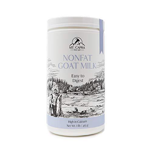 Mt. Capra, Lait Capra, lait de chèvre en poudre instantanée, 16 oz (453 g)