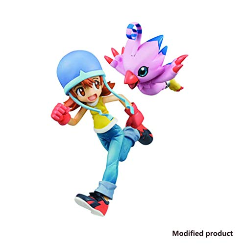 Digimon Adventure: Figura De PVC De Sora Y Piyomon - Escultura Altamente Detallada - Alta 5.1 Pulgadas